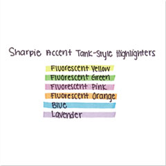 SAN25019 - Sharpie® Accent® Tank Style Highlighters