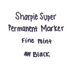 SAN33666PP - Sharpie® Super Permanent Marker