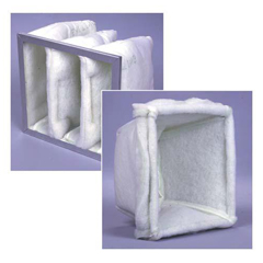 FLACUB1225T122410 - Flanders225 Cubes - 12x24x10, MERV Rating : 6