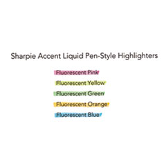SAN1754463 - Sharpie® Accent® Liquid Pen Style Highlighters