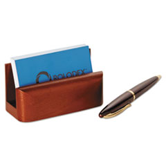 ROL23330 - Rolodex™ Wood Tones™ Business Card Holder