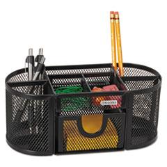 ROL1746466 - Rolodex™ Mesh Oval Pencil Cup Organizer