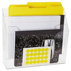 RUB96050ROS - Rubbermaid® Optimizers™ Multifunctional Three-Pocket File Folder Organizer