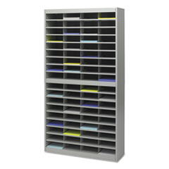 SAF9241GRR - Safco® E-Z Stor® Literature Centers with Steel Frames and Shelves