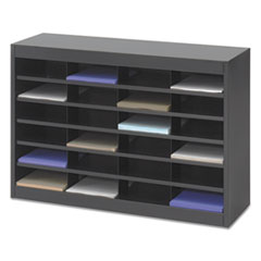 SAF9211BLR - Safco® E-Z Stor® Literature Organizers with Steel Frames and Shelves