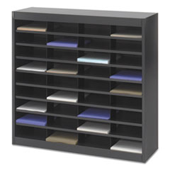 SAF9221BLR - Safco® E-Z Stor® Literature Organizers with Steel Frames and Shelves