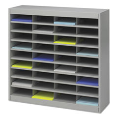 SAF9221GRR - Safco® E-Z Stor® Literature Organizers with Steel Frames and Shelves