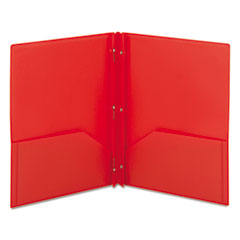 SMD87727 - Smead® Poly Two-Pocket Folder with Fasteners