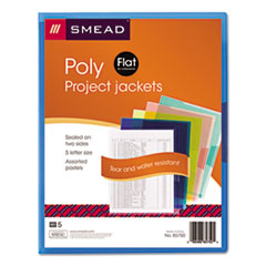 SMD85750 - Smead® Translucent Poly Project Jackets