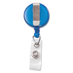 AVT75472 - Advantus® Translucent Retractable ID Card Reel