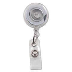 AVT75473 - Advantus® Translucent Retractable ID Card Reel