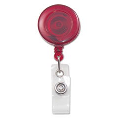 AVT75471 - Advantus® Translucent Retractable ID Card Reel