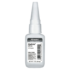 PRM230-70350 - PermatexZipgrip Gpe 30 Cyanoacrylate Adhesives, 1 oz