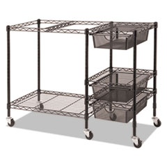VRTVF50621 - Advantus® Mobile File Cart with Drawers