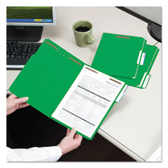 SMD12142 - Smead® WaterShed®/CutLess® Top Tab Fastener Folders