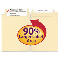 SMD15395 - Smead® SuperTab® Reinforced Guide Height Top Tab Folders