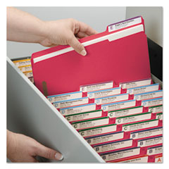 SMD12742 - Smead® WaterShed®/CutLess® Top Tab Fastener Folders