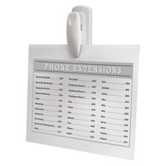 MMM17005ES - Spring Hook, 1 1/8w x 3/4d x 3h, White, 1 Hook/Pack