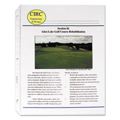 CLI61008 - C-Line ProductsSuper Heavyweight Polypropylene Sheet Protectors, Non-glare, 11 x 8 1/2