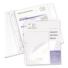 CLI61003 - C-Line ProductsSuper Heavyweight Polypropylene Sheet Protectors, Clear, 11 x 8 1/2