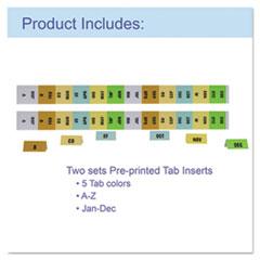 CLI58320 - C-Line Products21-Pocket Legal Size Expanding File w/Handle, Black