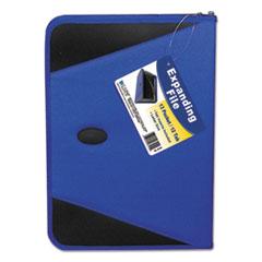 CLI48105 - C-Line ProductsExpanding File w/Zipper, Blue