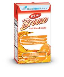 MON62002601 - Nestle Healthcare NutritionOral Supplement BOOST® Breeze Orange 8 oz.