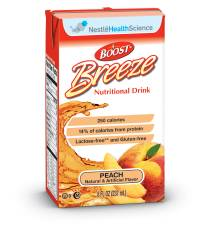 MON18642601 - Nestle Healthcare NutritionOral Supplement BOOST® Breeze Peach 8 oz.