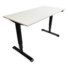ALEHT3SAB - Alera® Three-Stage Electric Height-Adjustable Table Base with Memory Controls