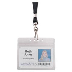 AVT91132 - Advantus® Resealable ID Badge Holders