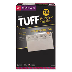 SMD64093 - Smead® TUFF® Hanging Folders with Easy Slide™ Tab