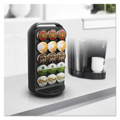 EMSCRS02BLK - Mind Reader Coffee Pod Carousel