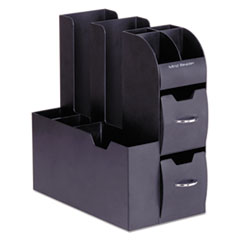 EMSCAD01BLK - Mind Reader Coffee Condiment and Accessory Caddy