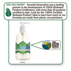 SEV22930CT - Seventh Generation® Natural Hand Wash