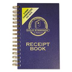 RED8L829 - Rediform® Gold Standard™ Money Receipt Book