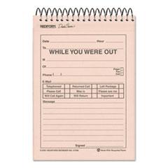 RED47296 - Rediform® Desk Saver Line™ Wirebound Message Book