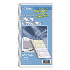 RED50750 - Rediform® Self-Stick Telephone Message Book