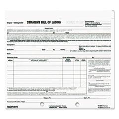 RED44301 - Rediform® Snap-A-Way® Bill of Lading, Short Form