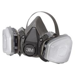 MMM6211PA1A - 3M Half Facepiece Paint Spray/Pesticide Respirator