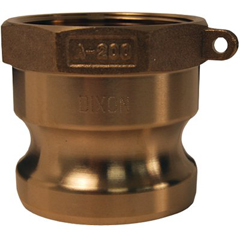 DXV238-G200-A-BR - Dixon ValveGlobal Type A Adapters