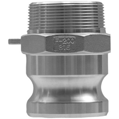 DXV238-G100-F-BR - Dixon ValveGlobal Type F Adapters