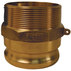 DXV238-G400-F-BR - Dixon ValveGlobal Type F Adapters