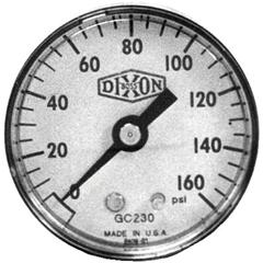 DXV238-GC610 - Dixon ValveStandard Dry Gauges
