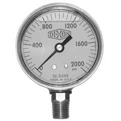 DXV238-GLBR1000 - Dixon ValveBrass Liquid Filled Gauges
