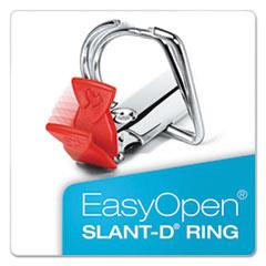 CRD54661 - Cardinal® SuperLife™ Pro Easy Open® ClearVue™ Locking Slant-D® Ring Binder