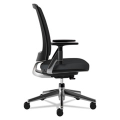 HON2283VA10PA - Lota Mesh Mid-Back Task Chair with Weight Activated Tilt & Polished Finish