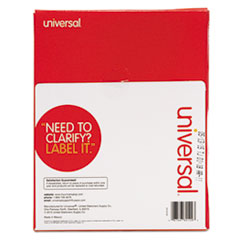 UNV80109 - Universal® White Multiuse Permanent Self-Adhesive Labels