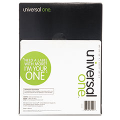 UNV81102 - Universal® Clear Multiuse Permanent Self-Adhesive Labels