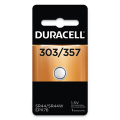 DURD303357PK - Duracell Watch/Electronic Batteries 303/357