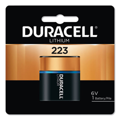 DUR243-DL223ABPK - DuracellUltra High Power Lithium Batteries, 223, 6V, 6/Pack